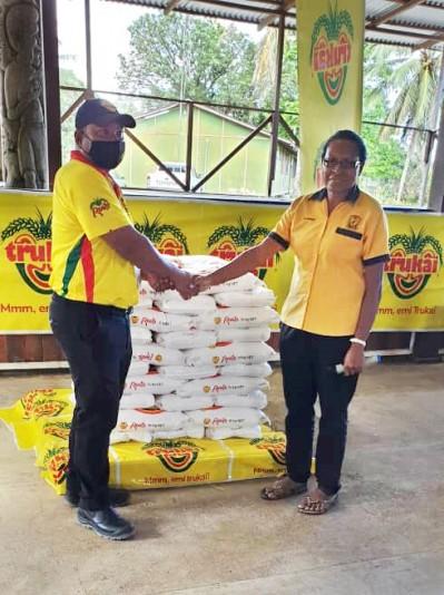 Trukai helps Cameron Secondary Food Appeal