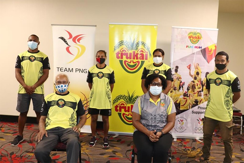 Fun Run T-Shirt Sales for Team PNG to Tokyo 2020