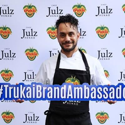 Chef Julz Henao is Trukai's Brand Ambassador
