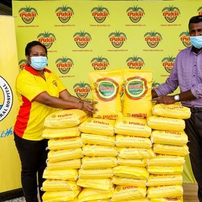 Trukai Supports major hospital with rice