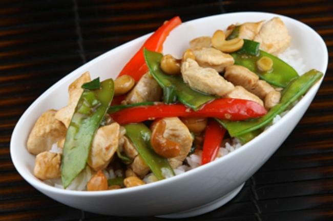 Garlic Chicken Stir-Fry